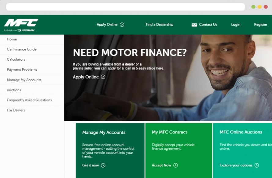 Nedbank Vehicle Finance